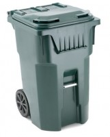 Wheeled container