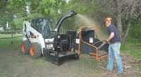 High-flow chipper attachment delivers grinding performance