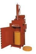 Drum crusher/compactor