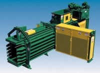 High-volume, Open-End Auto-Tie balers