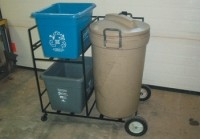 Portable recycling systems