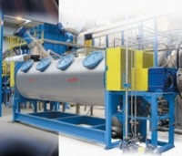 Combination PET and HDPE washing plant built in UK