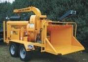 Complete line of wood chippers