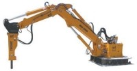 Stationary and portable boom systems