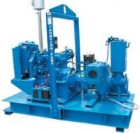 High-pressure pump handles solids