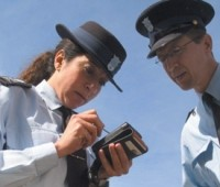 Small printers for parking enforcement