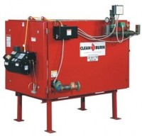 Used oil boiler recycles 3.6 gallons per hour