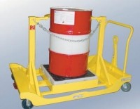 Low ground clearance drum carts