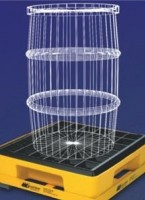 Spill containment scales for weighing chemicals