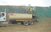 New hydroseeder provides increased power and speed
