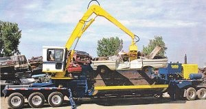Baler / loggers for auto recycling