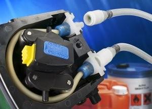 Peristaltic pump for slurries and viscous fluids