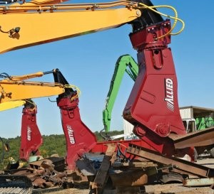 Allied's all-new AMS Series Mobile Shears pack up to 1,600 tons of cutting force