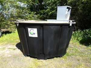 On-site food waste composter