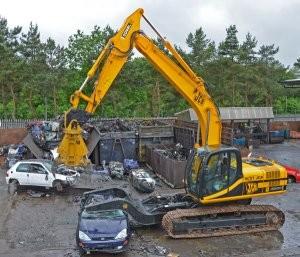 Dismantling system