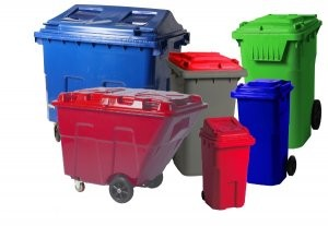 Full line of recycling and waste containers