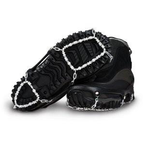Diamond Grip provides traction on slick ice, deep snow or hardpack