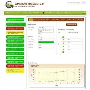 Windrow Manager 3.0 Compost Management Software
