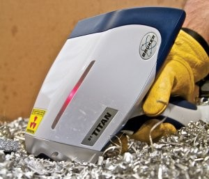 Handheld analyzer accessory protects unit's detector window