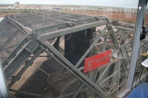 Retrofit shredder cage