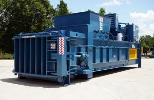 ATLAS horizontal scrap baler