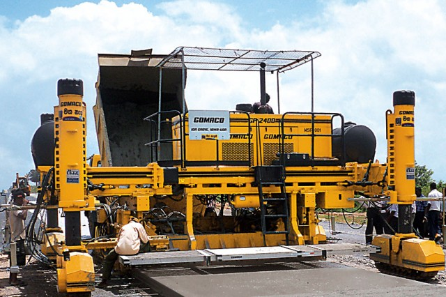 Apsf 1600 Slip Form Paver Heavy Equipment Guide