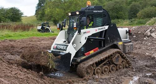Terex Construction Tlb840 Backhoe Loader Tc37 Compact