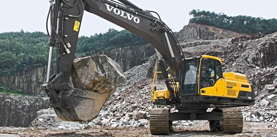 EC380D excavator