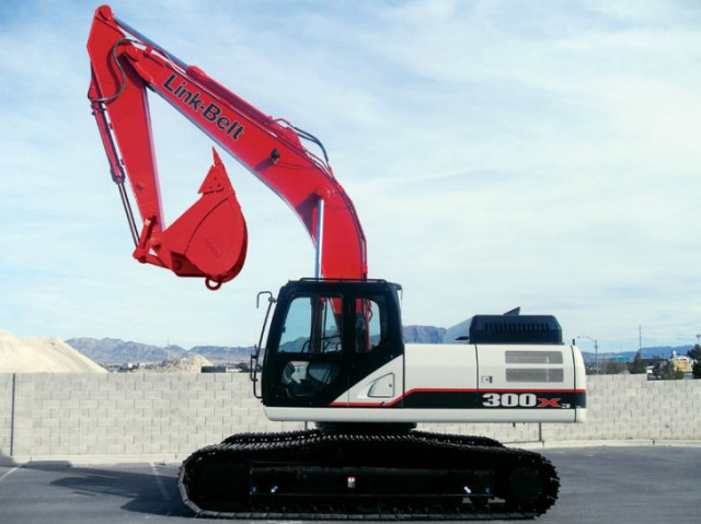 Link-Belt Excavators Now Equipped with RemoteCARE Telematics System