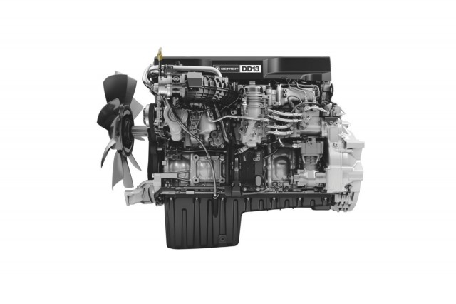 Detroit dd13 engines oil gas product news for Diesel motor oil in gas engine