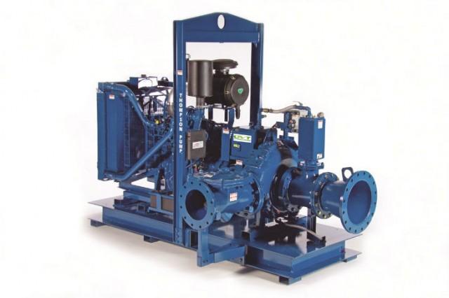 Thompson Pump priming system