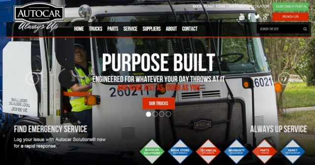 Autocar Empowers Customers with Launch of New Website