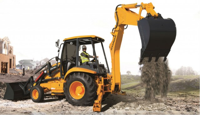 Hyundai H930C Perfect for Small Trenching Projects, Site Preparation, Road and Utility Work