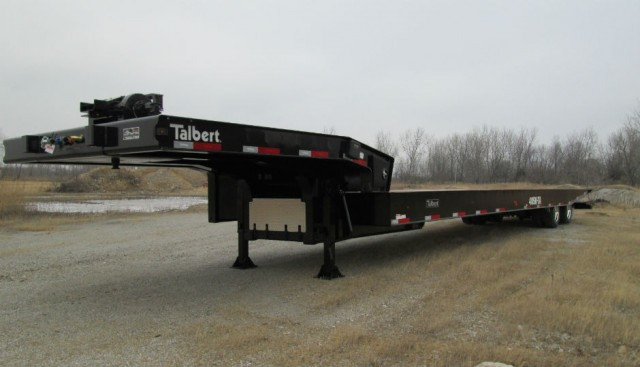 Talbert Manufacturing is unveiling its new 4050TA trailer at the American Towman Exposition in Baltimore, Nov. 21-23, 2014.