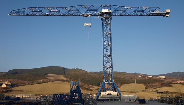 Tower Crane Guide : Linden comansa lc tower crane heavy equipment guide