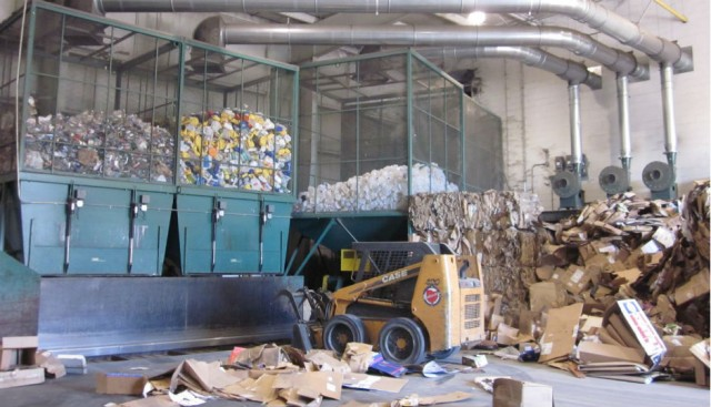 AirTrim Pneumatic Conveying Systems Eliminate Manual Movement of Materials at Recycling Facilities