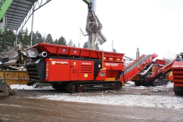"HAMMEL VB 950DK ""Red Giant"""