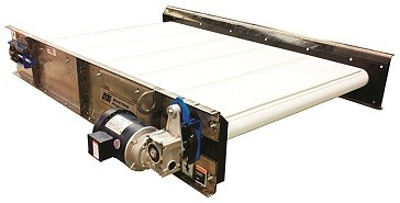 Bunting High Intensity Separation Conveyor on Display at Plastics Industry Event