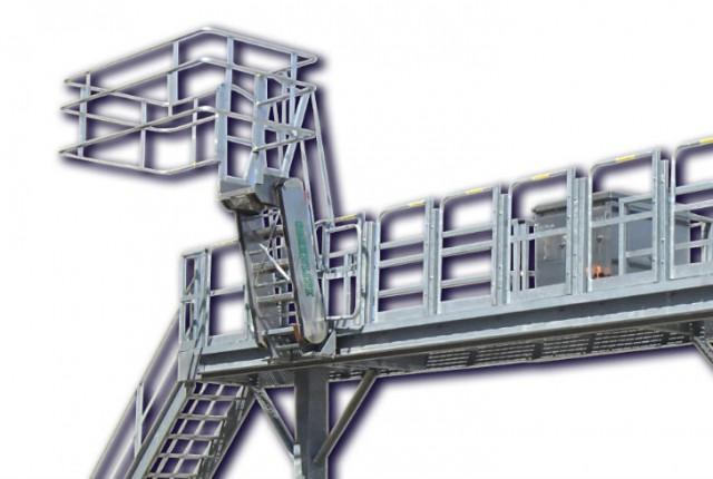 Slide-track Gangway