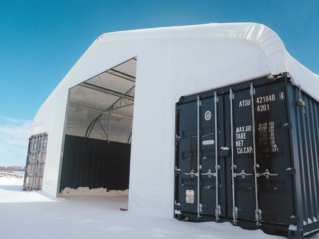 Container Line fabric building series