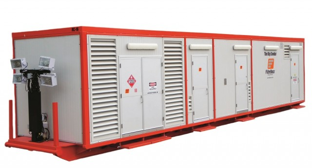 The Rig Combo G2 system combines wastewater treatment, generation and other key features.