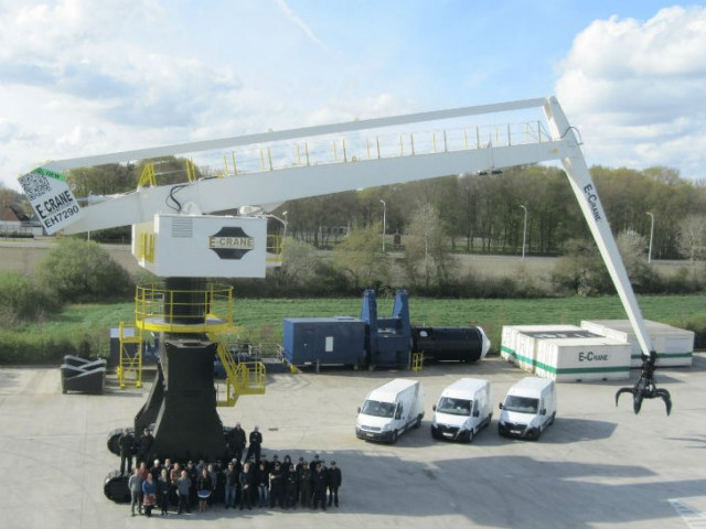 E-Crane launches 'E-Handler' for high production scrap handling