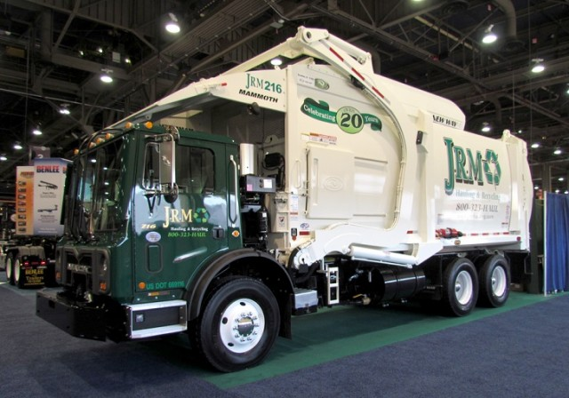 New Way Mammoth front loader designed for productivity in collection