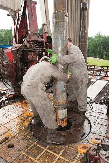 Pneumatic hammer drilling is becoming a more popular method of working in many conditions, including on unconventional operations.