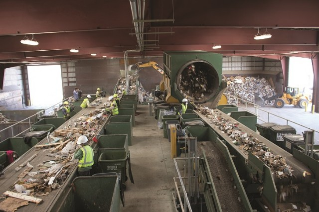 GK SXS Screen and equipment installed at the Peconic Recycling and Transfer Station.