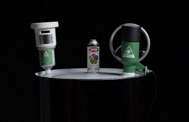 Aerosolv 360 Aerosol Can  Disposal System