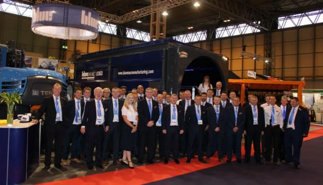 Blue Group Company, Blue Fuchs dealer for E-Crane in the UK.