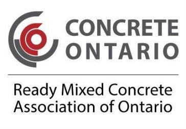 Ready Mixed Concrete Association of Ontario re-brands as Concrete Ontario