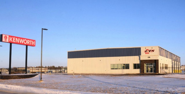 Located on a 4.5-acre site in a growing industrial park, Custom Truck Sales – Swift Current offers customers plenty of parking for their trucks and trailers along with a customer lounge furnished with satellite TV and internet access.