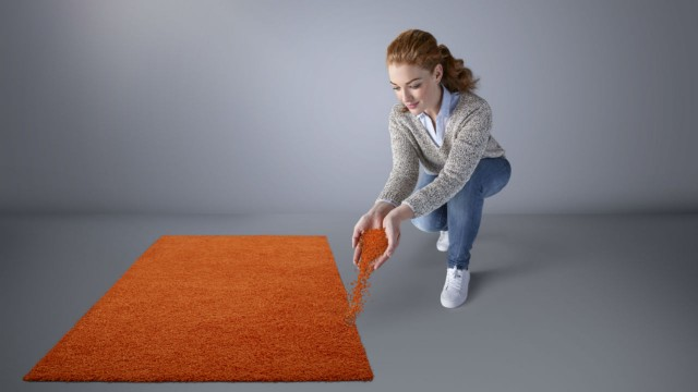 Niaga Technology enables the elimination of carpet waste.